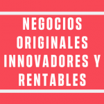 ideas de negocio originales